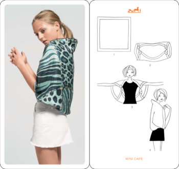 How To Look Glam in a Scarf