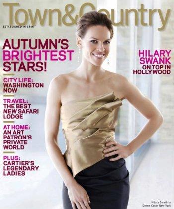 Hilary Swank: Priorities & Critics