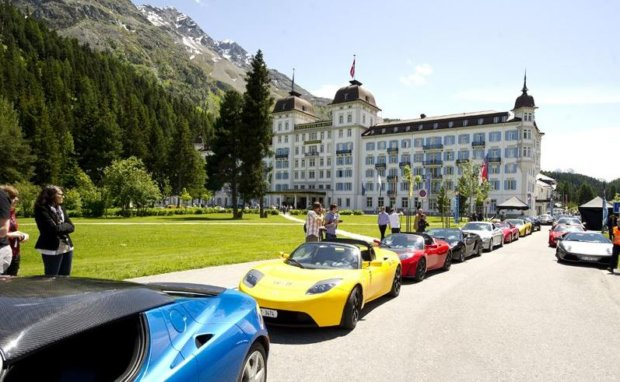 Kangaroo and Champagne? Get Yours in St. Moritz