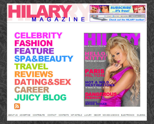 The First Online Magazine: Our History