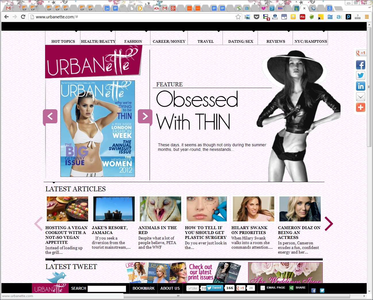 The First Online Magazine Our History Urbanette Lifestyle