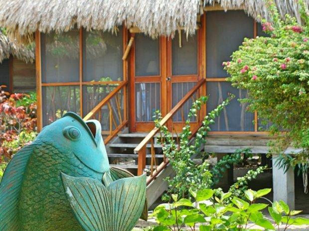 Beauty in Belize, at Turtle Inn
