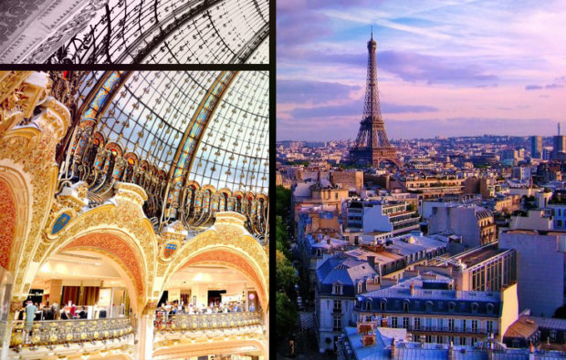 The Fashionista's Guide to Paris and London