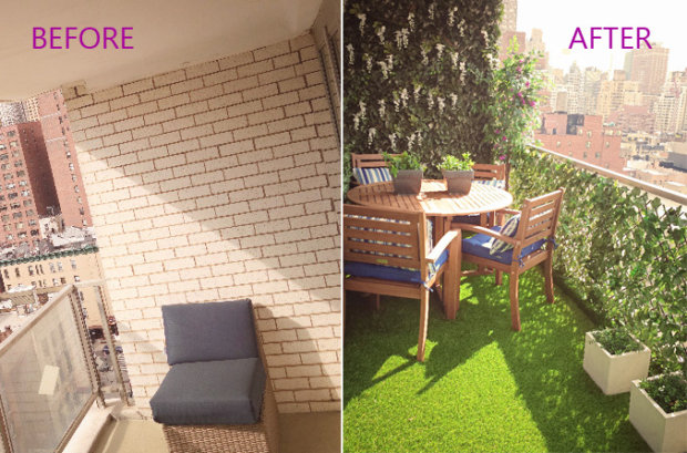 How to Turn Your Balcony Into a Private Sanctuary