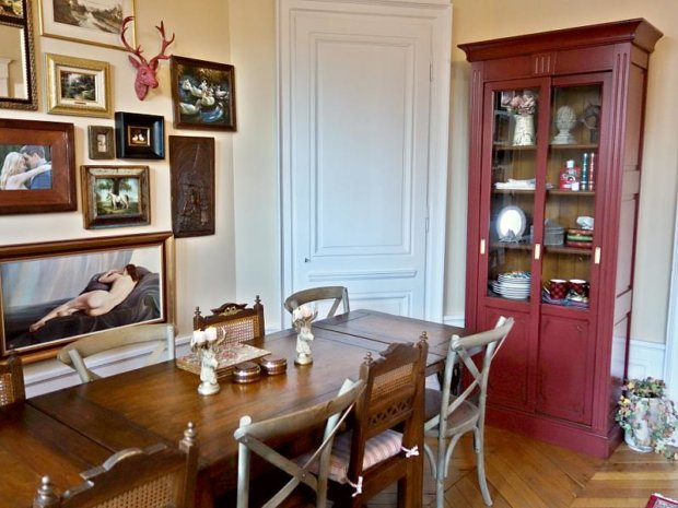 My French Home Decor Makeover: Dining Room